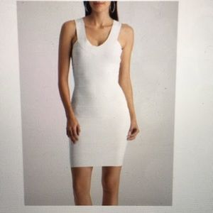 NWOT White Bandage Bodycon Dress from Marciano XS